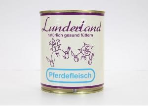 Lunderland Dosenfleisch Pferdefleisch 800g