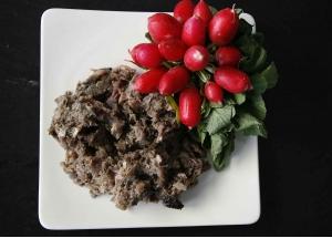 Weide-Rindermuskelfleisch mit Pansen